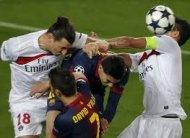 Барселона выходит в полуфинал Лиги Чемпионов 2013