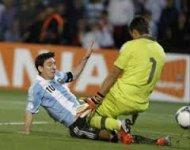 Уругвай вырвал три очка у Колумбии