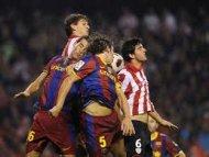 Атлетик минимально обыграл Барселону