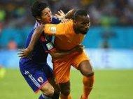 Кот д'Ивуар обыгрывает Японию