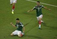 Мексика минимально обыгрывает Камерун
